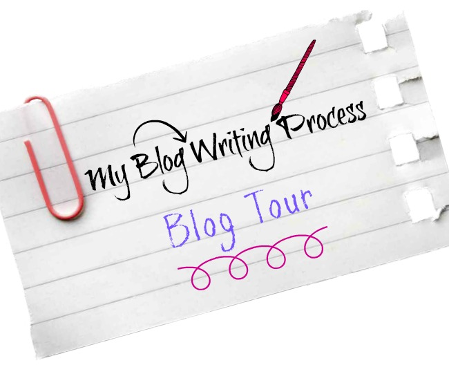 My Blog Writing Process - a fun blog tour with a little peek into the process of blogging! At littlemisscelebration.com