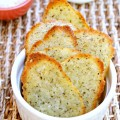 "A happy accident from a recipe gone astray! Parmesan, Garlic & Basil Savory ""Cookies"" are rich, cheesy and sweet with garlic & basil. A tasty alternative to bread with salads and pasta! At littlemisscelebration.com"