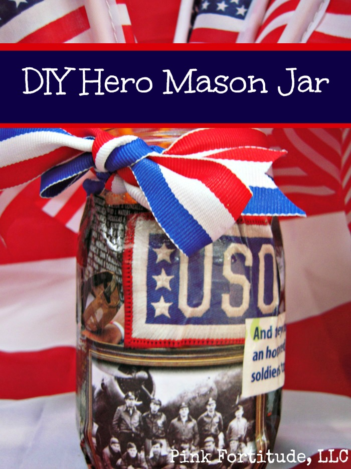 DIY Hero Mason Jar from The Coconut Head's Survival Guide