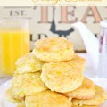Tender, with a touch of sweetness & bright with orange, Mini Glazed Orange Biscuits are a great addition to brunch, breakfast, a tea party or as a snack! At littlemisscelebration.com