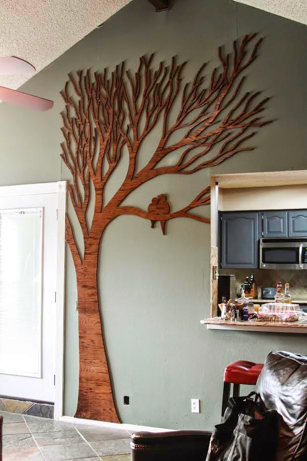 DIY Tree Wall Art from Wilker Do's