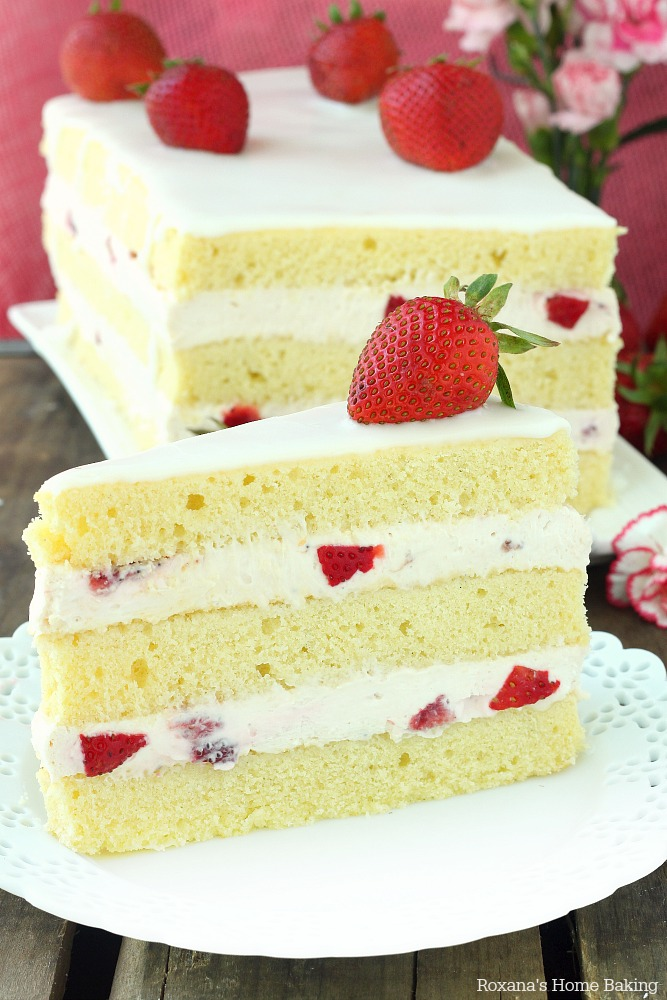 Strawberry Shortcake Cake from Roxana's Home Baking