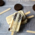 Cookies and Cream Pudding Pops from Cooking with Curls for littlemisscelebration.com
