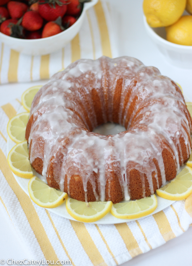 Lemon Bundt Cake From Chez CateyLou