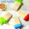 Vanilla Sugar Cookie Popsicles - a Christmas in July treat that's both frosty & warm! At Little Miss Celebration