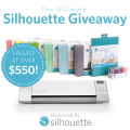 The Ultimate Silhouette Giveaway! Enter to win a Silhouette CAMEO and more at littlemisscelebration.com