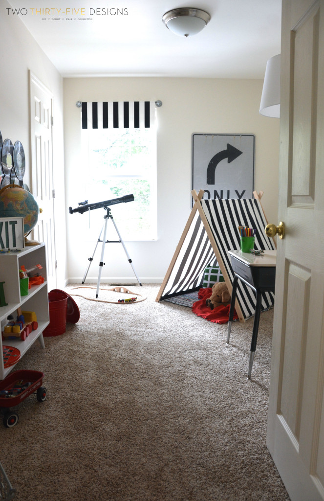 GMC Hidden Treasures Adventure Playroom Reveal from Two -Thirty Five Designs
