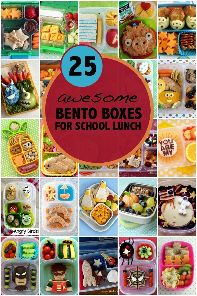 25 Bento Lunchbox Ideas from Spaceships and Laserbeams