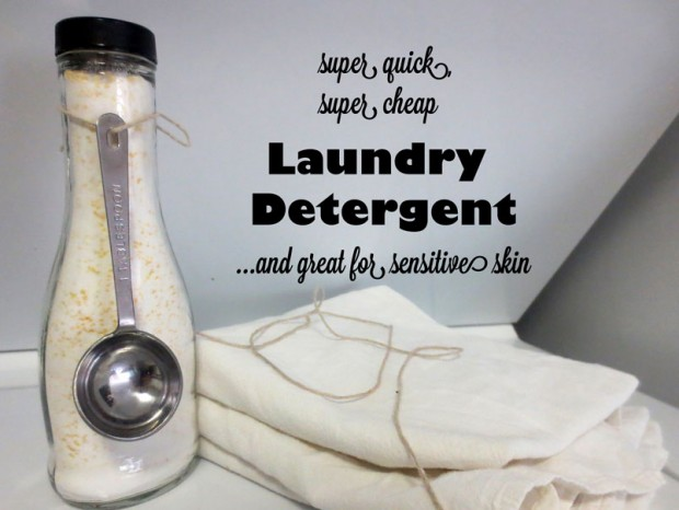 5-Minute Laundry Detergent from White Lights On Wednesday