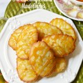 Tender madeleines get an easy, crackly candy crust for a delicious mix of texture! At littlemisscelebration.com