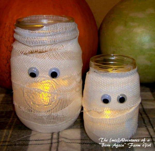 Mummy Jars from The (mis)Adventures of a Born Again Farm Girl