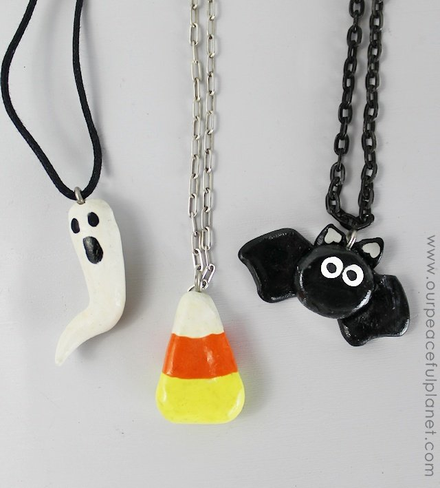 Simply Halloween Clay Jewelry from Our Peaceful Planet