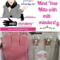 Perfect holiday gift or stuffing stuffer! Mind your mitts and no more lost gloves with mitt-minders!