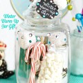 An easy & pretty Winter Warm-Up Jar Gift is perfect for everyone on your list! Plus, 99+ Handmade Holiday Gift Ideas from wonderful bloggers! At littlemisscelebration.com