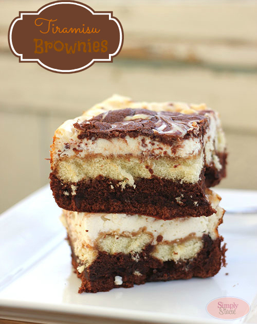 Tiramisu Brownies from Simply Stacie