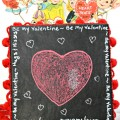 The whole family can channel their Cupid artist and create their own Valentine Chalkboard Message Box! Perfect for a handmade gift, treats or for the kids to take Valentines to school. From littlemisscelebration.com