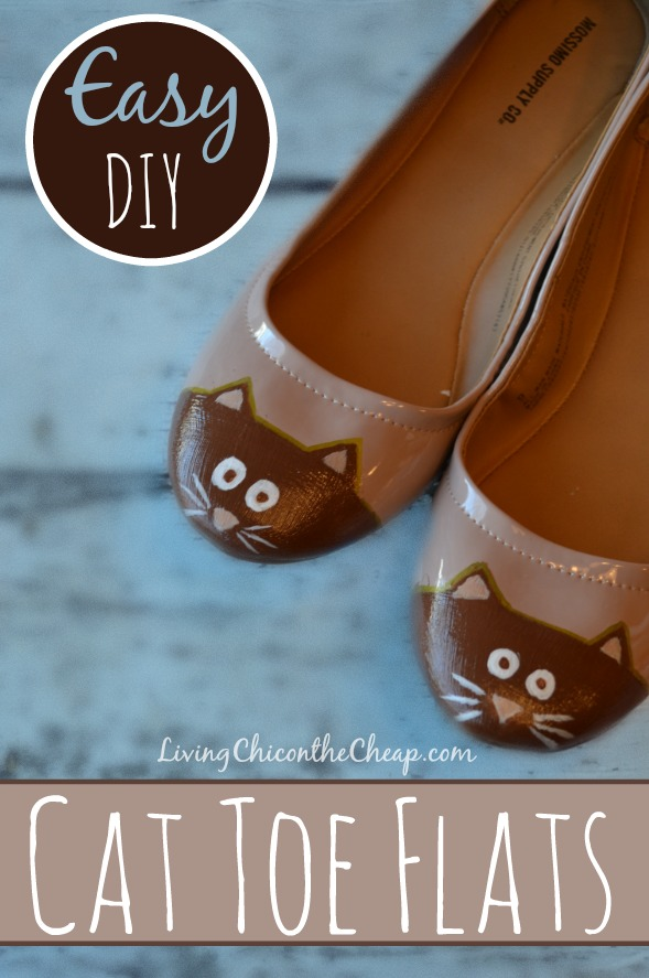 Cat Toe Flats from Living Chic on the Cheap