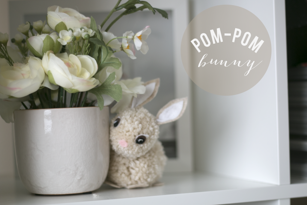 Pom Pom Bunny from Ash and Crafts