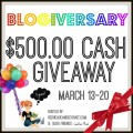 Stop by and enter the $500.00 PayPal Cash Giveaway celebrating Redhead Can Decorate! at littlemisscelebration.com
