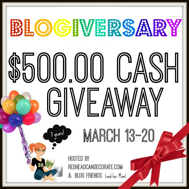 $500 PayPal Cash Giveaway Celebration!