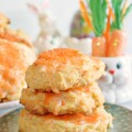 Celebrate spring with a carrot sweet! Carrot Orange Cookies are light, tender and melt in your mouth! Recipe at littlemisscelebration
