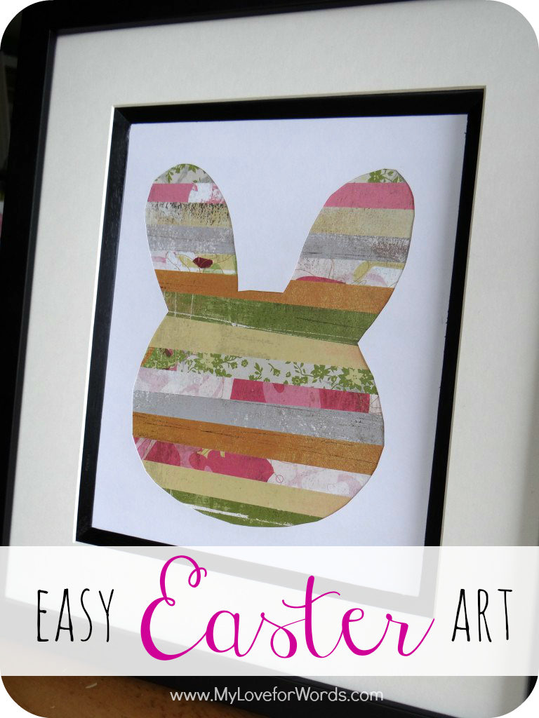 Easy Easter Art from My Love for Words