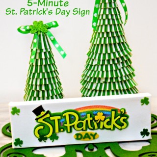 Five Minute St. Patrick's Day Sign