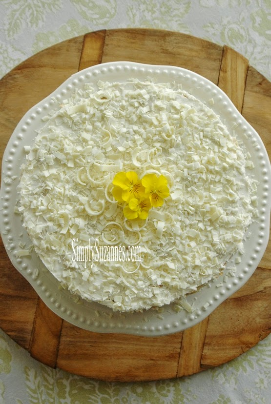 Lemon Honey Cream Ice Box Cake from Simply Suzanne's AT HOME