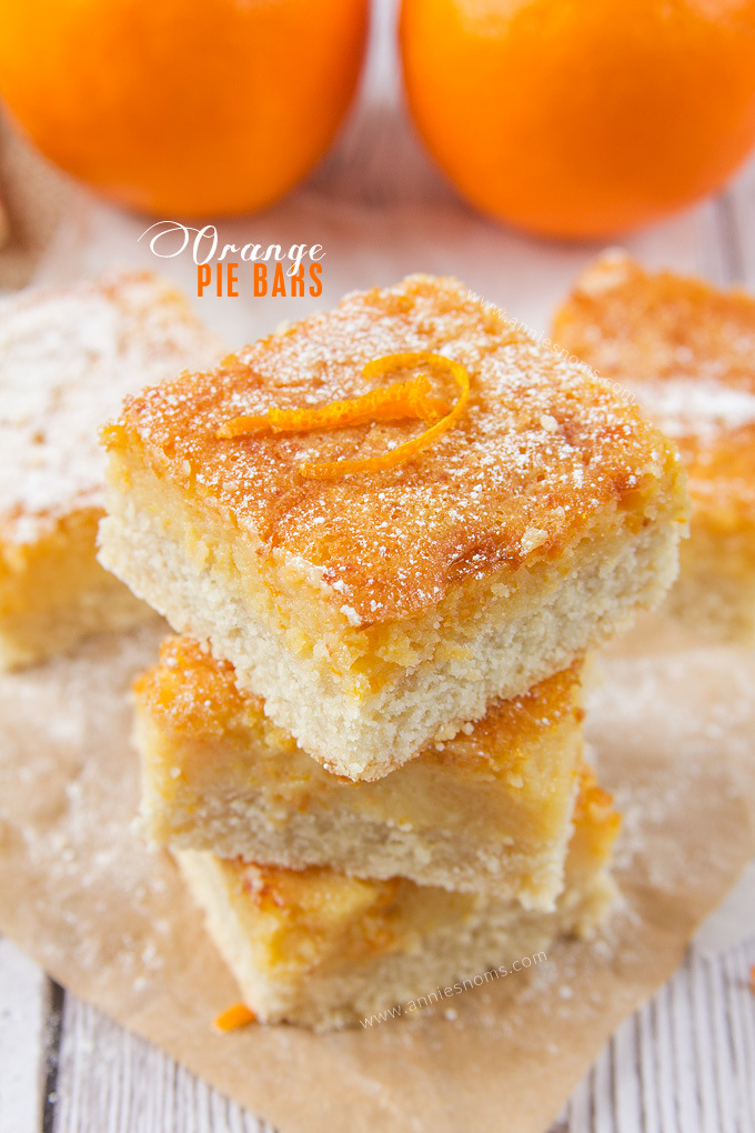 Orange Pie Bars from Annie's Noms