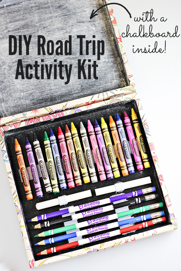 DIY Road Trip Activity Kit from Comic Con Family