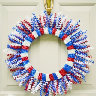 Fireworks Wreath