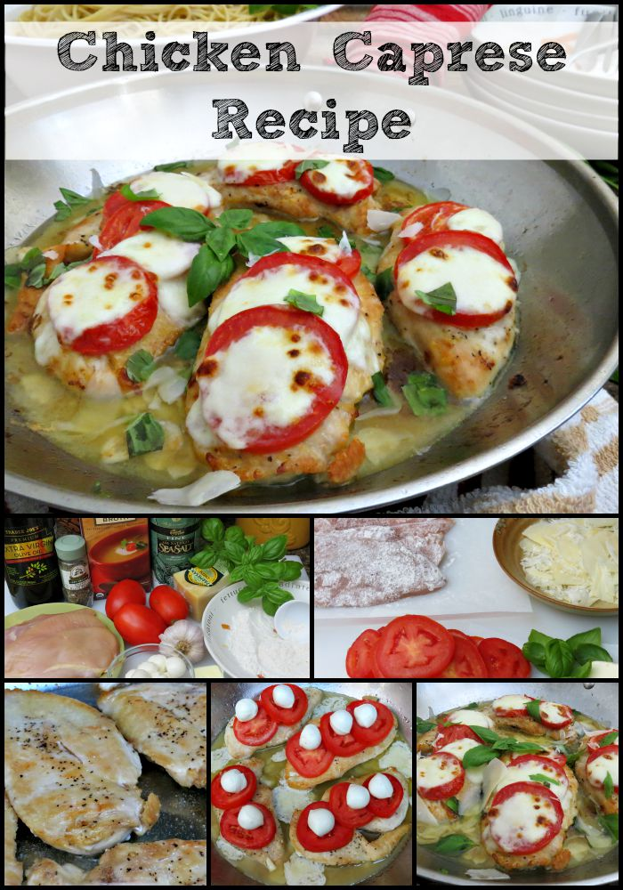 Chicken Caprese Recipe from Moms Need to Know