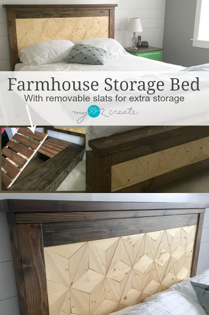 Farmhouse Storage Bed from My Love 2 Create