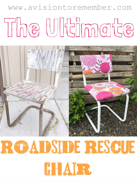 The Ultimate Roadside Rescue Chair from A Vision To Remember