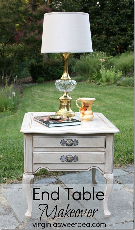 End Table Makeover from Virginia Sweet Pea