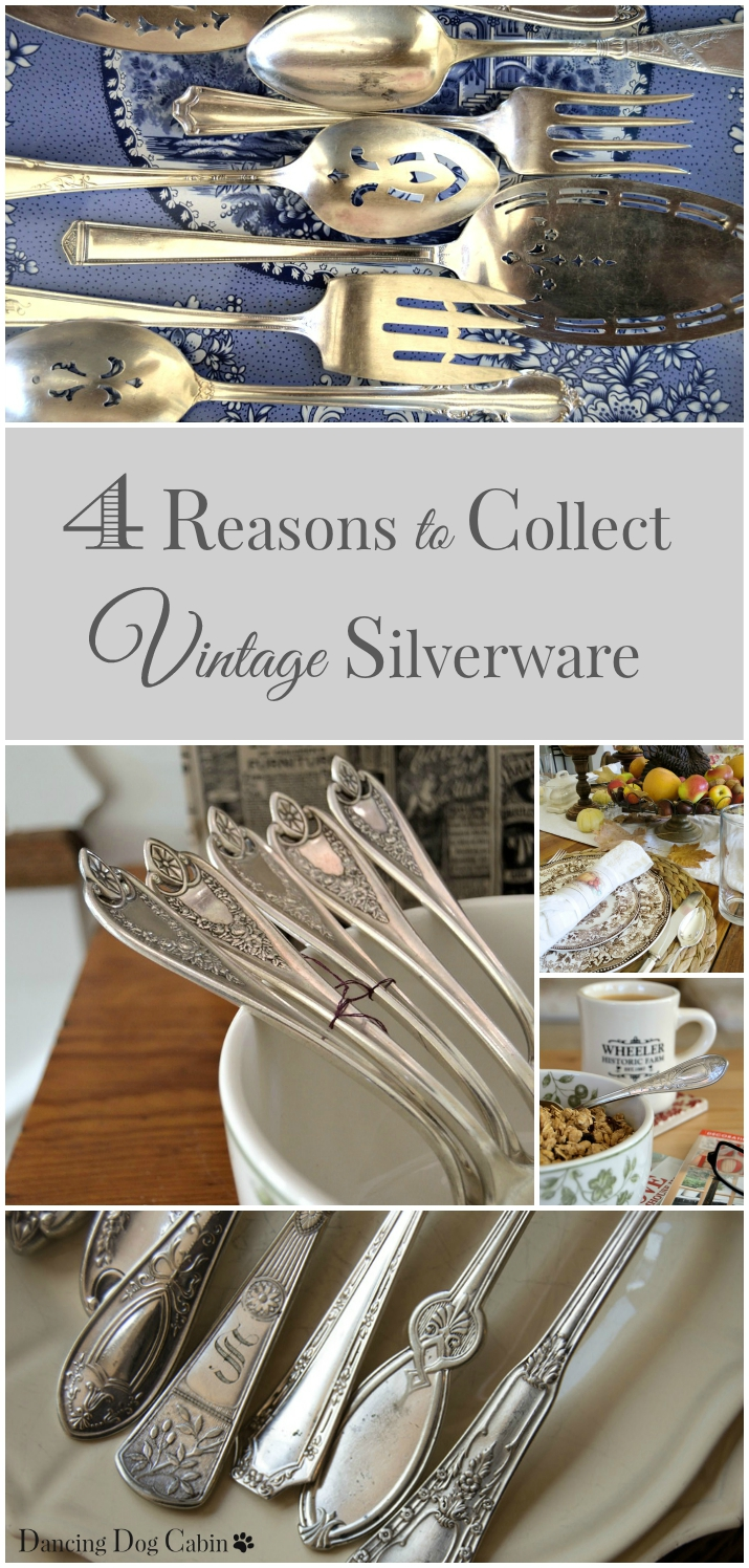 4 Reasons to Collect Vintage Silver from Dancing Dog Cabin