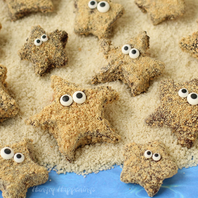 S'mores Starfish from Hungry Happenings