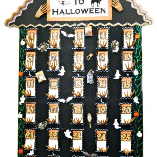 Skeleton House Halloween Countdown
