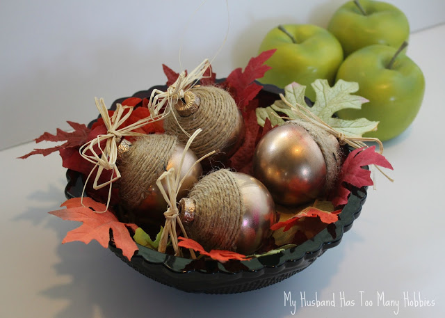 Fall Acorn Ornaments from My Husband Has Too Many Hobbies