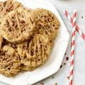 Kick-start your fall baking with a cookie version of classic Southern pralines! An easy drop cookie to make with the family! at littlemisscelebration.com