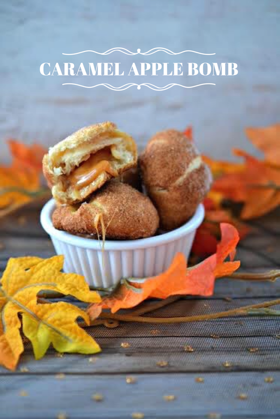 Caramel Apple Bombs from Saving You Dinero