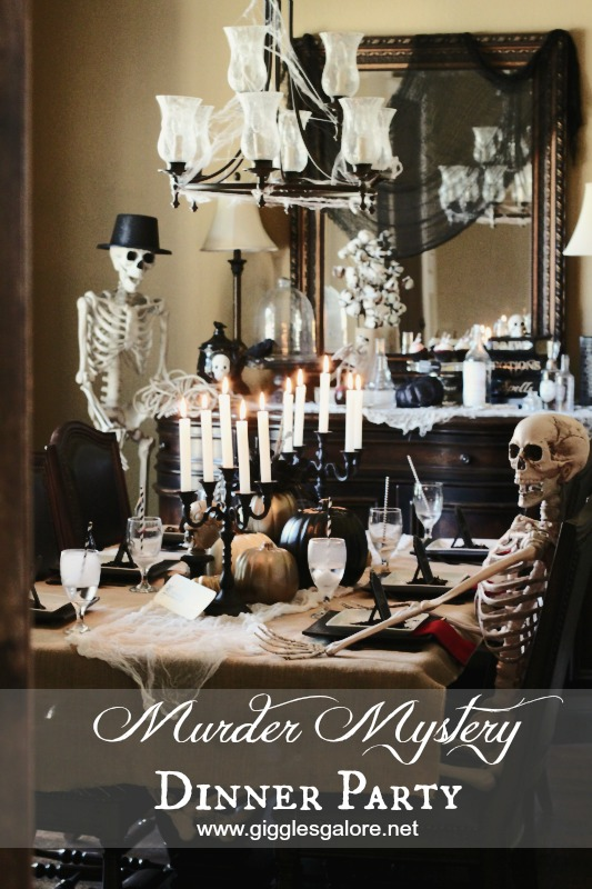 Murder Mystery Dinner Party from Giggles Galore