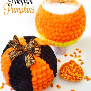 Pom Your Pumpkin! Pompom Pumpkins