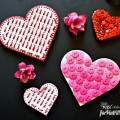 Fun & easy Valentine Heart Magnets can bring a touch of cupid to the heart of the home - the kitchen! Little Miss Celebration for PinkWhen
