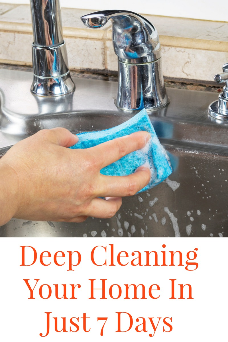 Deep Cleaning Your Home in Just 7 Days from Penny Pincher Jenny