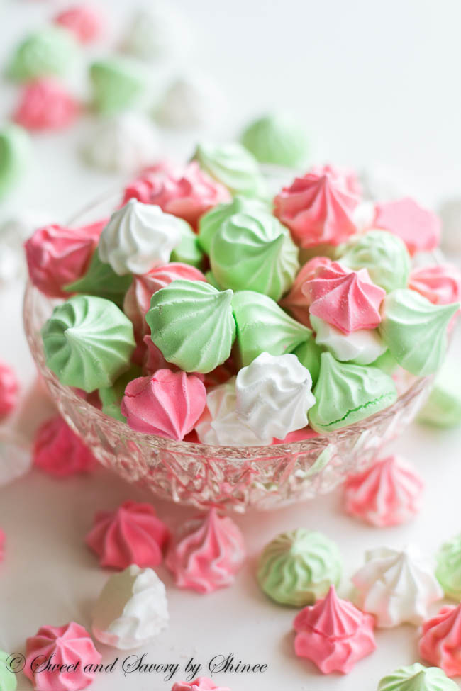 French Meringue Cookies from Sweet & Savory by Shinee