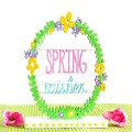 Little & cute! Bring a touch of springtime to your décor with a Painted Spring Wishes sign. At littlemisscelebration.com