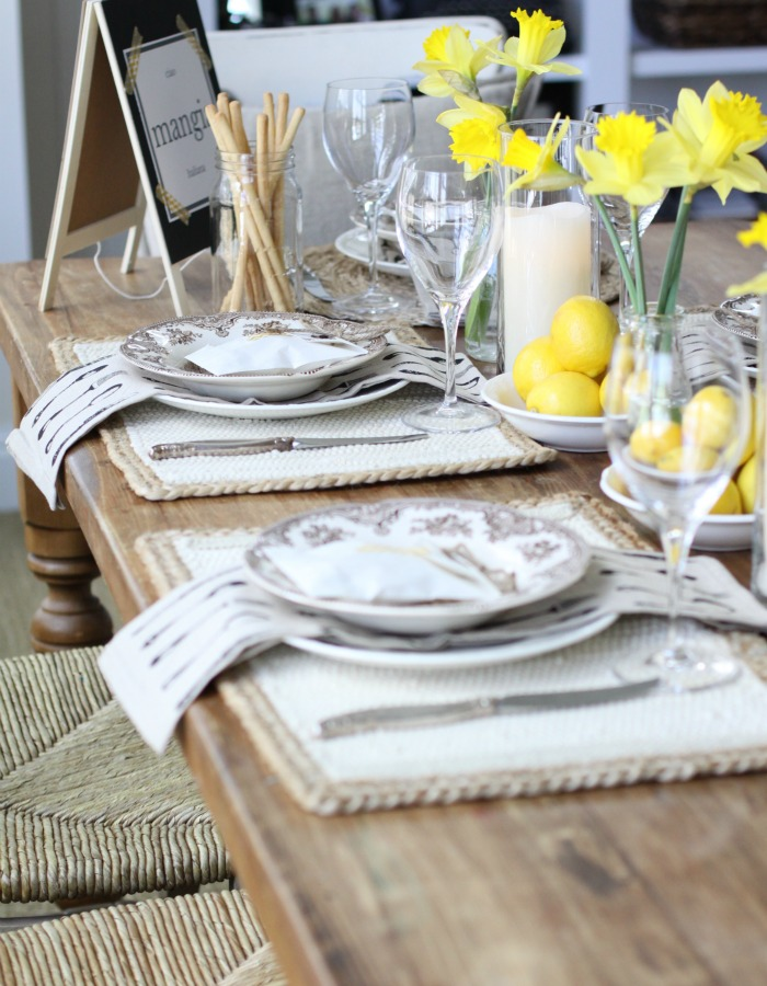 Spring Inspired Table Decor from Love of Home