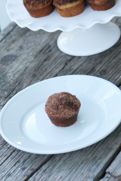 The Very Best (and healthiest!) Cinnamon Sugar Breakfast Muffins from Extraordinary Mommy