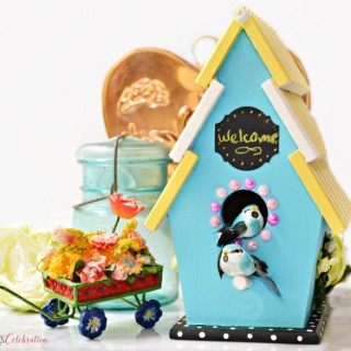 Sunshine Chic Birdhouse